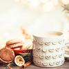 《珈琲とデザイン》クリスマス柄が可愛い【タリーズコーヒー】「タリーズホリデーロースト フルボディ」と、陶器の円錐形ドリッパー