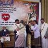 イエメンの結婚式・男性部屋に潜入