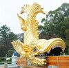 地上に降りた金鯱に会いに名古屋城へ