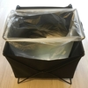 キングジムのスタックバスケットが一人暮らしのゴミ箱にちょうどいい