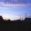 学校が終わった後の、夕暮れ時の空を覚えていたい