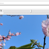 OpenCvSharpで作成したウィンドウにスライダーを付けてみる