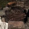ラム肉の焚き火グリル