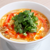 足利美食まつり トマトたっぷり黒酢酸辣湯