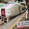 大人のリゾート列車「伊豆クレイル IZU CRAILE」往復乗車、発売形態 車両のご紹介、断然 海側席!