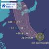 台風10号とオンライン授業