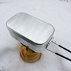 trangia(トランギア社)メスティン飯ごうでごはんを炊いてみた(バリ取り下準備もした)