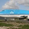 MahoBeach [KLM B747-400離陸編+MOVIE] (オランダ航空)