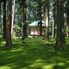 平泉寺の苔