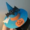 100円ショップの画用紙で作る、ハロウィン仮装