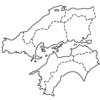 【小学生 地理入門(白地図学習)】 中国・四国地方