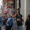 2年前の今日撮った大阪の繁華街の写真。そりゃ大阪経済死ぬわな。