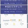 ポケモンGO 火曜日アワーXL飴調査(非ブースト)