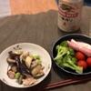 ナスと豚肉のレンジでチンする、野菜