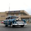 '55 CHEVYに乗って、なんとなく汽船のりばへ。