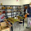 柳井市:竹細工のおうちがありました。