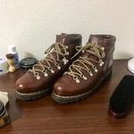 【真冬の革靴】パラブーツ(Paraboot)のアヴォリアーズ(Avoriaz)とその靴磨き