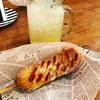 大阪・鶴橋『miss moon(ミスムーン)』の『チーズドッグとゆずソーダ』