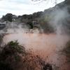 【別府地獄めぐり】赤や青の池や迫力ある間欠泉など。高温豊富な温泉が織り成す現象を愉しむことができる。