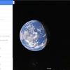 Google Mapで宇宙空間を旅してみた