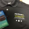 NTC シャツもらいました。
