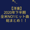 【洋楽】2020年下半期 全米NO1ヒット曲 総まとめ!!