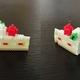 【アイロンビーズ3D】ストロベリーショートケーキ