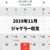 2019年11月ジャグラー収支~ゴージャグ最強説~