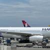 搭乗記 ハワイアン ホノルル⇒羽田 HA457 A332 エコノミー