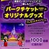 【9/15】ハウス東京ディズニーリゾートで楽しもう!パークチケットオリジナルグッズプレゼントキャンペーン【オープン/web】
