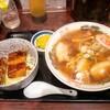 まるたか食堂@会津若松 ラーメンとミニ会津ソースかつ丼