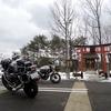 初詣とオートバイ神社お参り