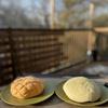 海老名SAの世界ギネスのメロンパンやっと食べられた