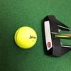 「ゴルフ上達」家の中でパター練習!No.1【フェースの芯で捉え順回転転がせ!】