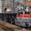 石炭返空の5764レを川崎新町駅で撮影しました
