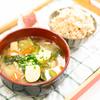 自家製ブレンド米に食べる味噌汁