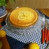 レモン風味のチーズケーキ作り方【生クリーム不要】フードプロセッサーで混ぜて焼くだけ!