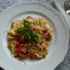 5つの食材だけで出来る簡単パスタ【レシピ付き】週末のお昼は、おうちで手作りイタリアン ❤