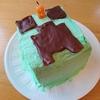お誕生日のケーキと ごはん🍴