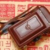 【中国製二眼レフカメラ・海鴎4B研究】(5)速写ケースにつける革ストラップ