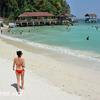 パヤ島のビーチ