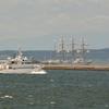 Jアラート発令、そして今年も海王丸が寄港です…