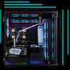 CORSAIR 1000D Part5 ラジエーター設置