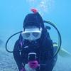 ♪透明度良い中で海洋実習スタート♪〜沖縄ダイビングライセンス〜