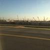 バンコクSuvarnabhumi空港サテライトの建築