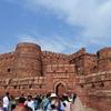 弾丸タージ・マハル その15 アグラ城 タージマハルに行ったら必ず行ってね!!赤茶色の要塞