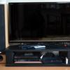 エレコム製テレビ台をローボード化する