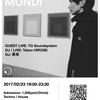 2017.2.23(THU) 19:00-23:30 MUSICA MUNDI @ Hot Buttered Club -live and lounge-