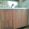 洗面所のタオルとストックの収納