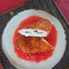 鶏ササミが、変身!トマトソースでいただく大葉チーズ入り鶏ササミカツ
